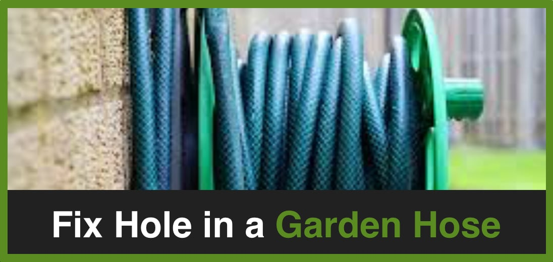 Fix Hole in a Garden Hose Green