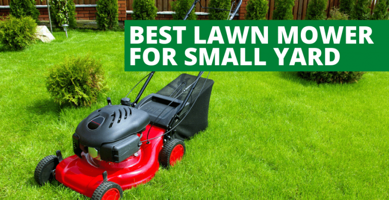 Best Lawn Mower For Small Yard (2020 Reviews Updated)